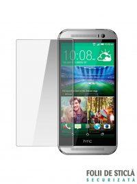 Folie din sticla securizata pentru HTC One M8