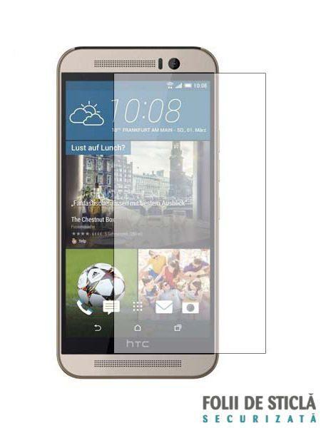 Folie din sticla securizata pentru HTC One M9