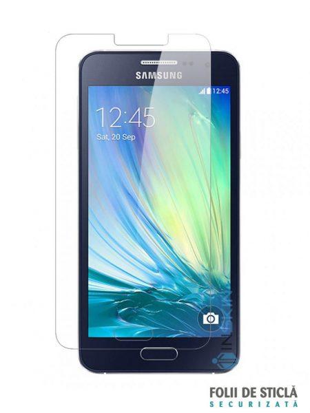 Folie din sticla securizata pentru Samsung Galaxy A3