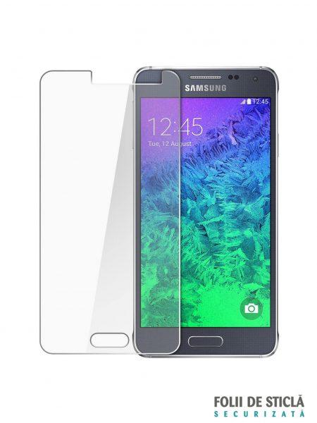 Folie din sticla securizata pentru Samsung Galaxy Alpha