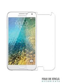 Folie din sticla securizata pentru Samsung Galaxy E5