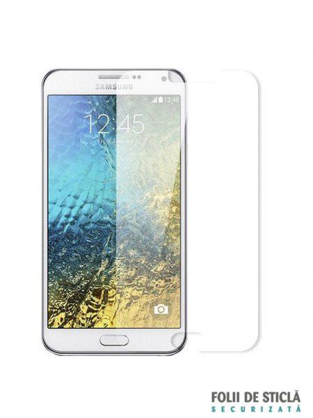 Folie din sticla securizata pentru Samsung Galaxy E7