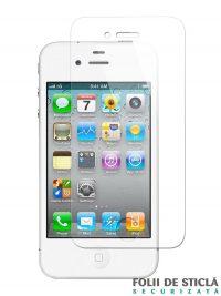 Folie din sticla securizata pentru iPhone 4/4S