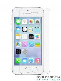 Folie din sticla securizata pentru iPhone 5/5S/5C/SE