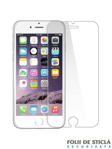 Folie din sticla securizata pentru iPhone 6/6S
