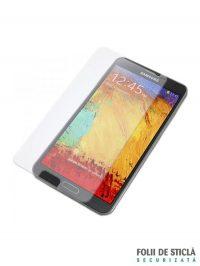 Folie din sticla securizata pentru Samsung Galaxy Note 3