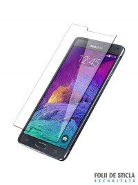 Folie din sticla securizata pentru Samsung Galaxy Note 4