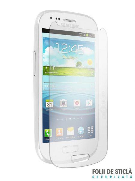 Folie din sticla securizata pentru Samsung Galaxy S3 Mini