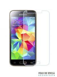 Folie din sticla securizata pentru Samsung Galaxy S5 Mini