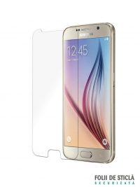 Folie din sticla securizata pentru Samsung Galaxy S6 - Față