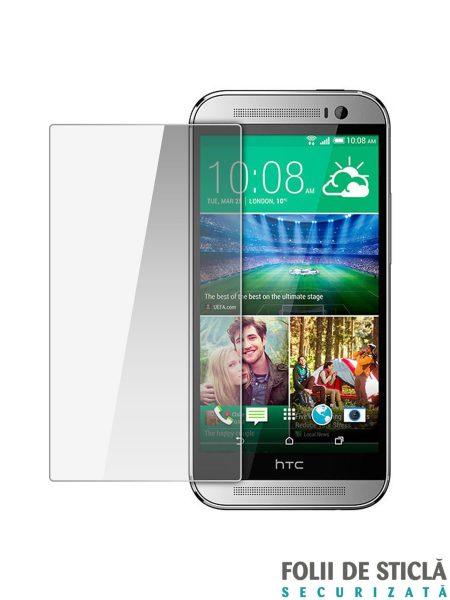 Folie din sticla securizata pentru HTC One E8