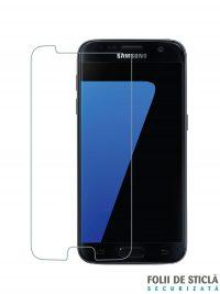 Folie din sticla securizata pentru Samsung Galaxy S7