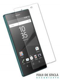 Folie din sticla securizata pentru Sony Xperia Z5 Premium (față)