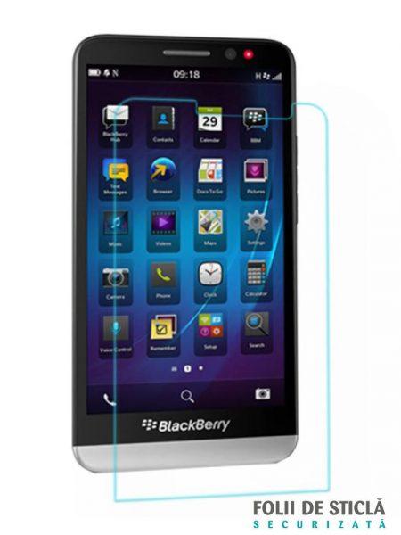 Folie din sticla securizata pentru BlackBerry Z30