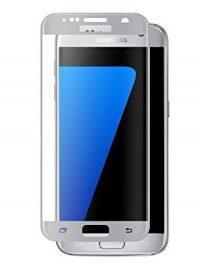 Folie curbată 3D din sticlă securizată pentru Samsung Galaxy S7 SILVER