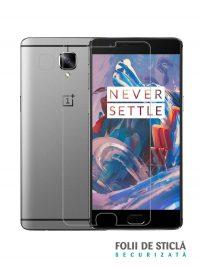 Folie din sticla securizata pentru OnePlus 3 / 3T