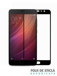 Folie Fullscreen 2.5D din sticla securizata pentru Xiaomi Redmi Pro NEGRU