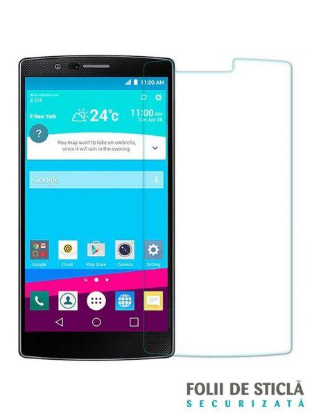 Folie din sticla securizata pentru LG G4 ANTI BLUE-RAY