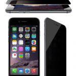 Folie din sticla securizata pentru iPhone 6 / 6S PRIVACY