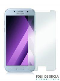 Folie din sticla securizata pentru Samsung Galaxy A3 (2017)