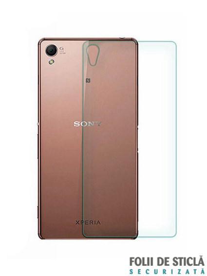 Folie din sticla securizata pentru Sony Xperia Z3+ (Z4) (spate)