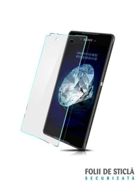 Folie din sticla securizata pentru Sony Xperia Z3+ (Z4) (față)