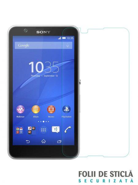 Folie din sticla securizata pentru Sony Xperia E4