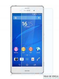Folie din sticla securizata pentru Sony Xperia M4 Aqua (față)