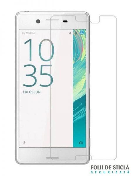 Folie din sticla securizata pentru Sony Xperia X