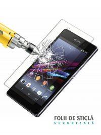 Folie din sticla securizata pentru Sony Xperia Z1 Compact (față)