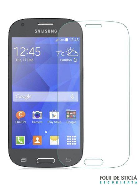 Folie din sticla securizata pentru Samsung Galaxy Ace 4