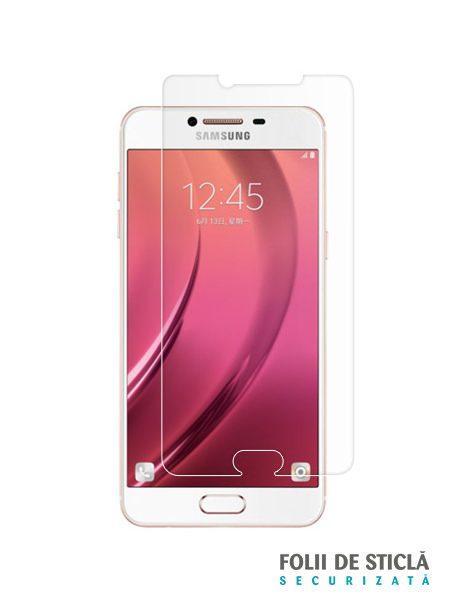 Folie din sticla securizata pentru Samsung Galaxy C5 / C5 Pro