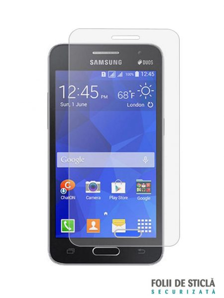 Folie din sticla securizata pentru Samsung Galaxy Core II