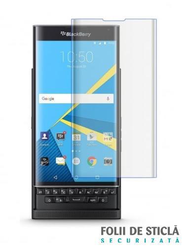 Folie curbată 3D din sticlă securizată pentru BlackBerry Priv TRANSPARENT