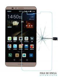 Folie din sticla securizata pentru Huawei Mate 7