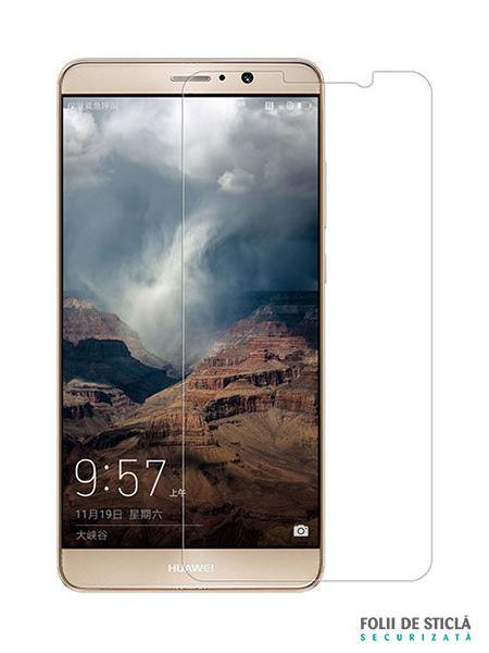 Folie din sticla securizata pentru Huawei Mate 9