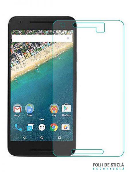 Folie din sticla securizata pentru Huawei Nexus 6P
