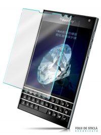 Folie din sticla securizata pentru BlackBerry Passport