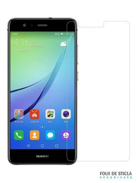 Folie din sticla securizata pentru Huawei P10 Lite