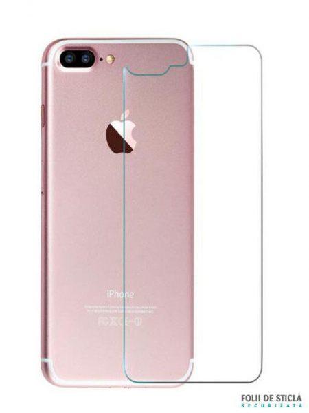 Folie din sticla securizata pentru iPhone 7 Plus - Spate