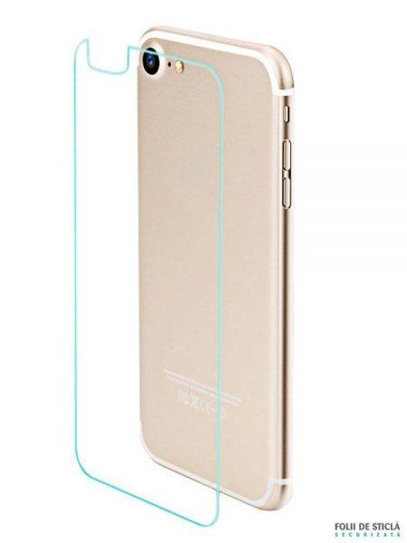 Folie din sticla securizata pentru iPhone 7 - Spate