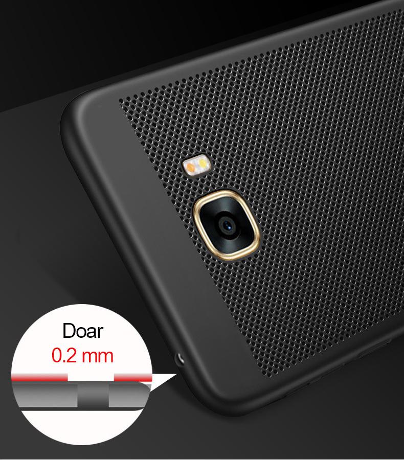 Husă slim tip mesh pentru Samsung Galaxy J3 (2017)