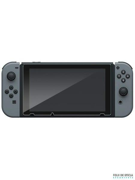 Folie din sticla securizata pentru Nintendo Switch