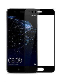 Folie Fullscreen 2.5D din sticla securizata pentru Huawei P10 NEGRU