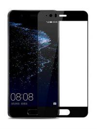 Folie Fullscreen 2.5D din sticla securizata pentru Huawei P10 Plus NEGRU