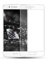 Folie Fullscreen 2.5D din sticla securizata pentru Huawei Honor 8 ALB