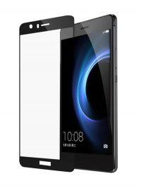 Folie Fullscreen 2.5D din sticla securizata pentru Huawei Honor 8 NEGRU
