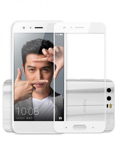 Folie Fullscreen 2.5D din sticla securizata pentru Huawei Honor 9 ALB