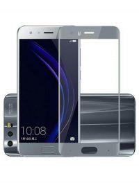 Folie Fullscreen 2.5D din sticla securizata pentru Huawei Honor 9 GREY (GRI)