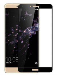 Folie Fullscreen 2.5D din sticla securizata pentru Huawei Honor Note 8 NEGRU